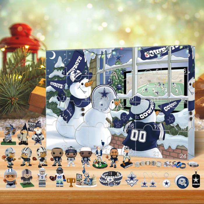 Dallas Cowboys Christmas Advent Calendar🎁 The best gift choice for fans