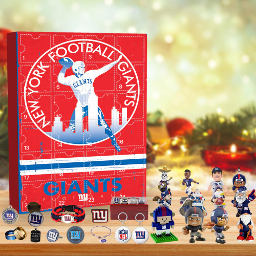 New York Giants Vintage print Advent Calendar🎁 The best gift choice for fans