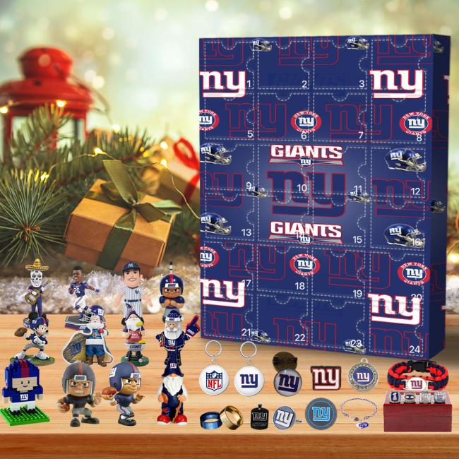 New York Giants Christmas Advent Calendar🎁 The best gift choice for fans