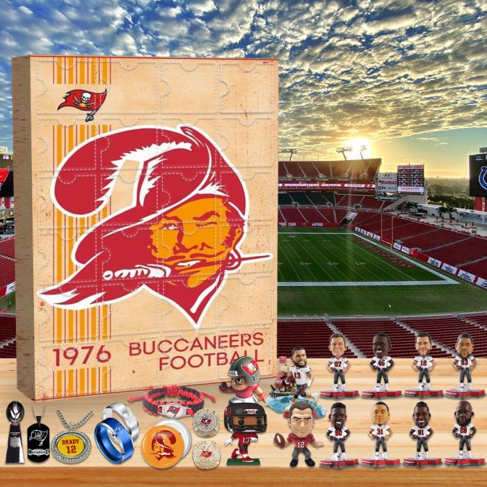 Tampa Bay Buccaneers Advent Calendar-Memories of 1976