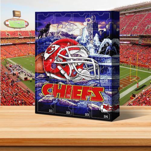 Kansas City Chiefs Christmas Advent Calendar🎁 1969&2019 Super Bowl Champion
