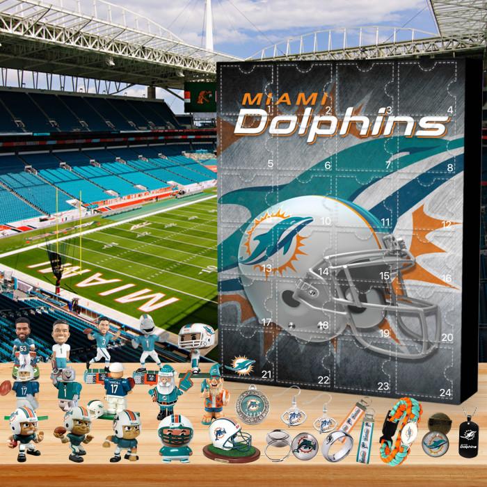 Miami Dolphin Christmas Advent Calendar🎁 I love the  Dolphin