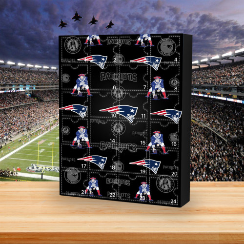 New England Patriots - Christmas Advent Calendar🎁 The best gift choice for fans