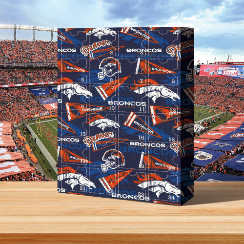 Denver Broncos Christmas Advent Calendar🎁50th Super Bowl Champion
