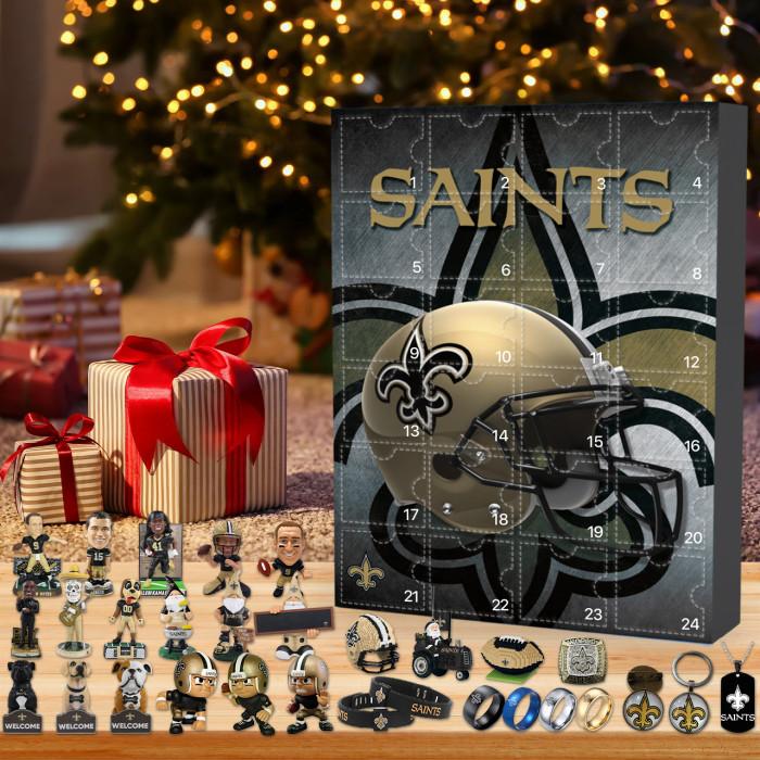 New Orleans Saints Christmas Advent Calendar🎁 I love the Saints