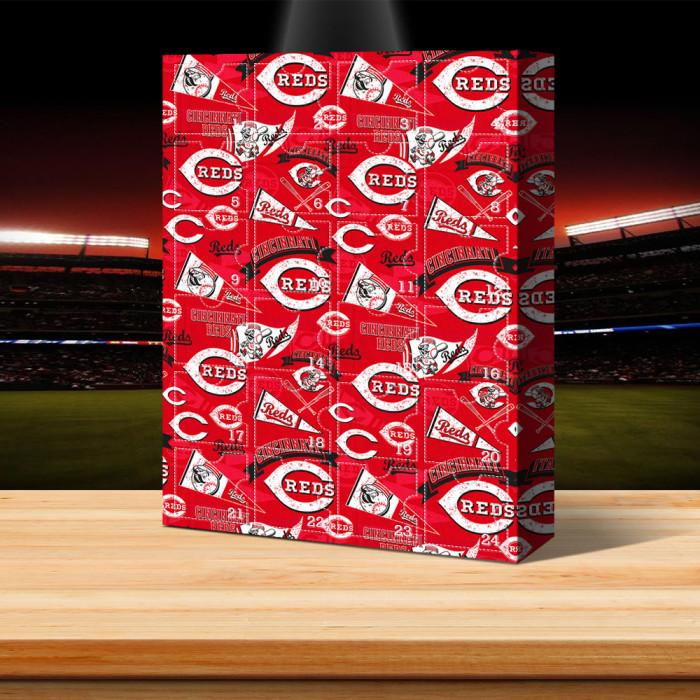 Cincinnati Reds - Advent Calendar🎁 The best gift choice for fans