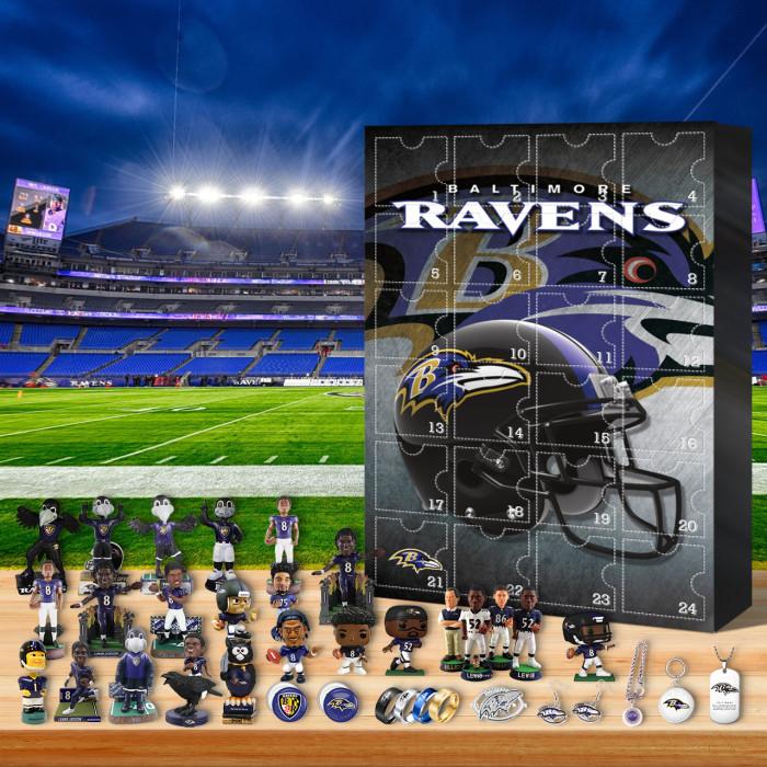 Baltimore Ravens Christmas Advent Calendar🎁 I love the Ravens