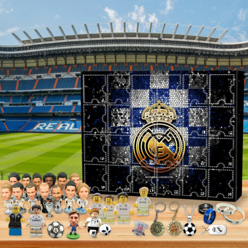 ⚽Real Madrid F.C Advent Calendar🎁 The best gift choice for fans