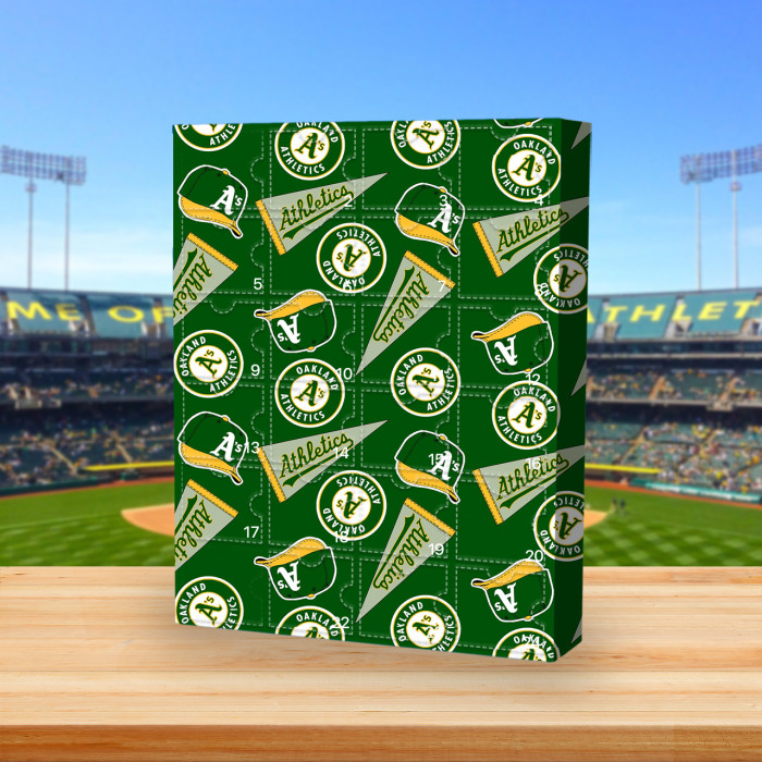 Oakland Athletics - Advent Calendar🎁 The best gift choice for fans