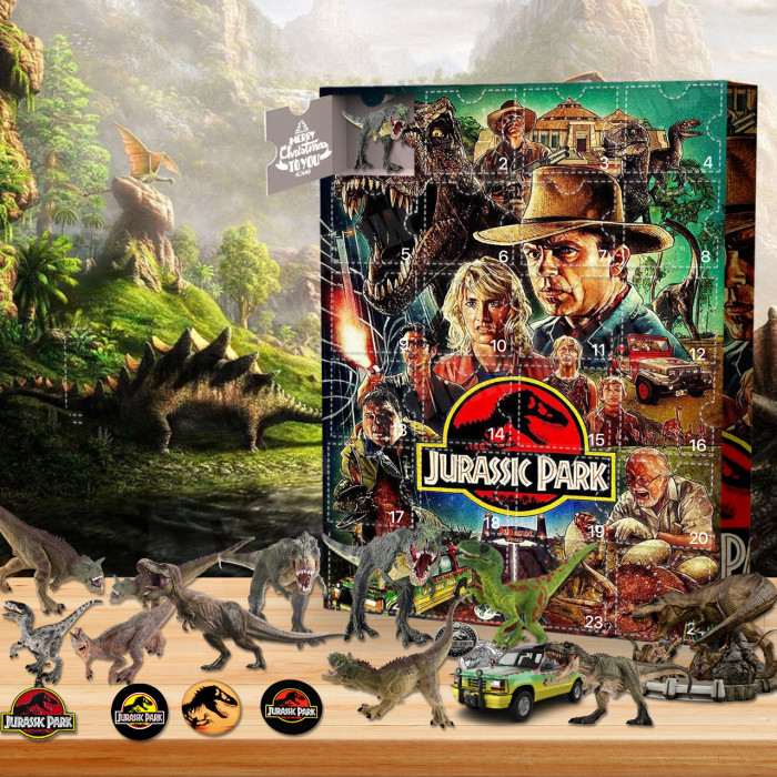 Jurassic Park™ Advent Calendar -🎁The Calendar With 24 Small Gift