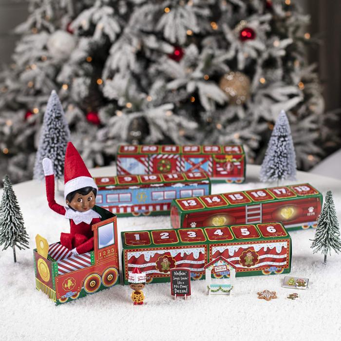 2021 New Gift Ideas(Surprise Calendar)-Christmas 24 Days Countdown Train