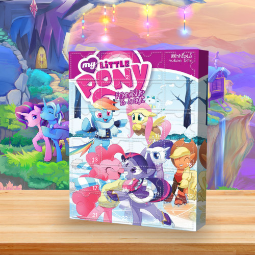 My Little Pony: Friendship Is Magic Advent Calendar -🎁The Calendar With 24 Small Gift