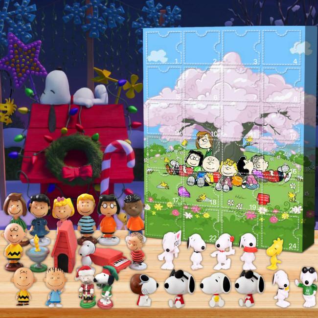 Snoopy Advent Calendar -🎁The Calendar With 24 Small Gift