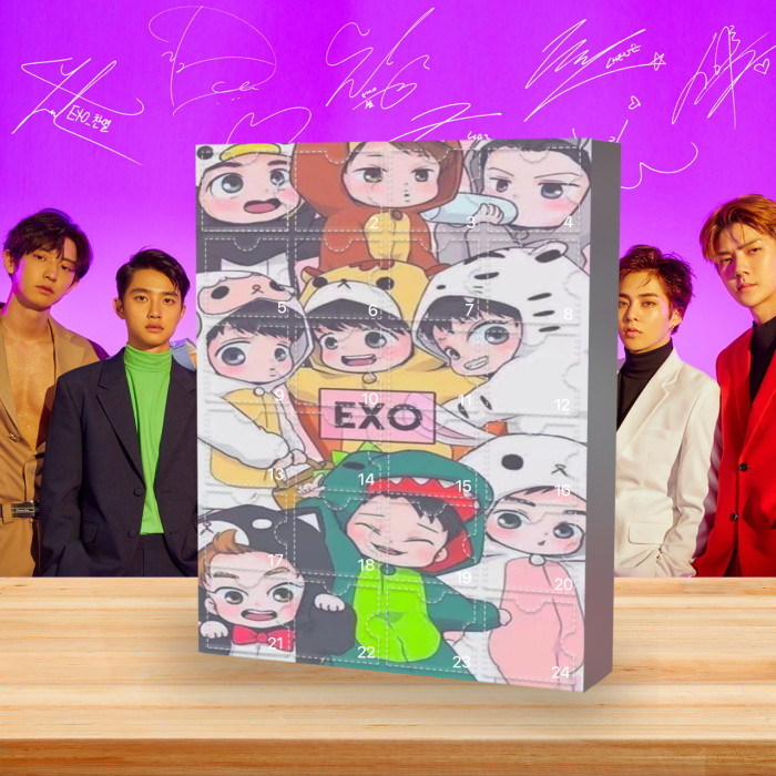 EXO Advent Calendar🎁Comes with 24 EXO gifts
