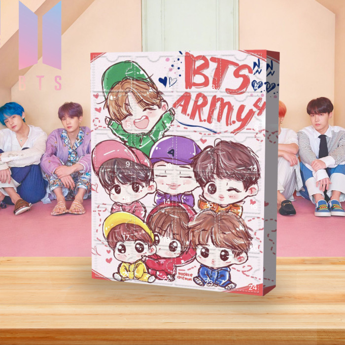 BTS Advent Calendar🎁Comes with 24 BTS gifts