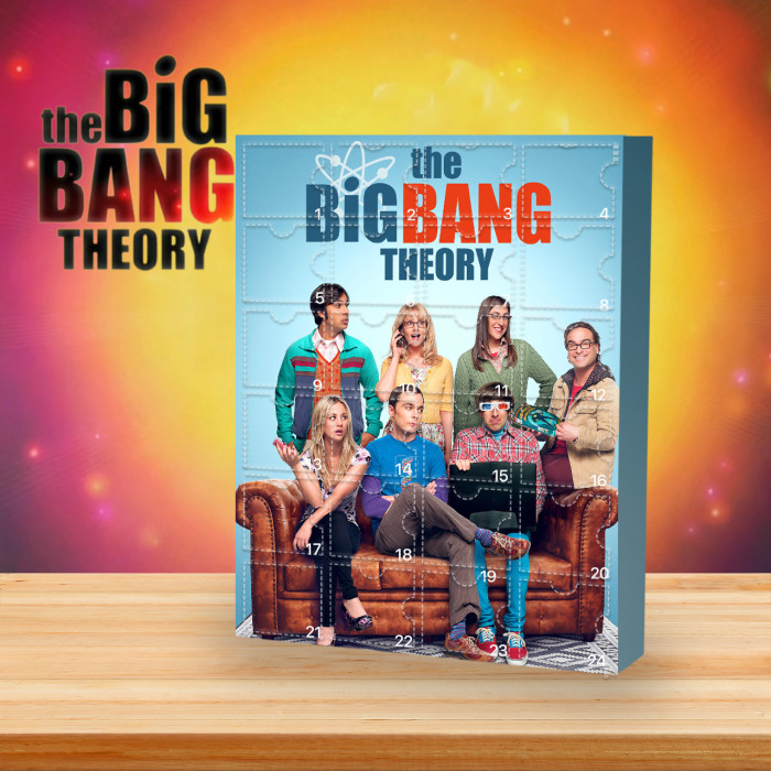 The Big Bang Theory Christmas Advent Calendar🎁 The best gift choice for fans