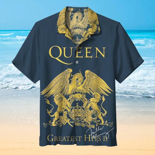 QUEEN- Freddie Mercury's 30th Anniversary Edition Hawaiian shirt