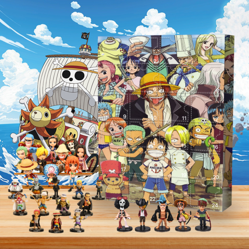One Piece Advent Calendar-🎁The Calendar With 24 Small Gift