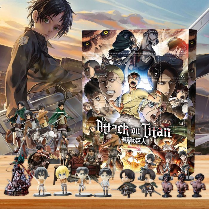 Attack on Titan Advent Calendar -- 🔥24 Gifts Are In It