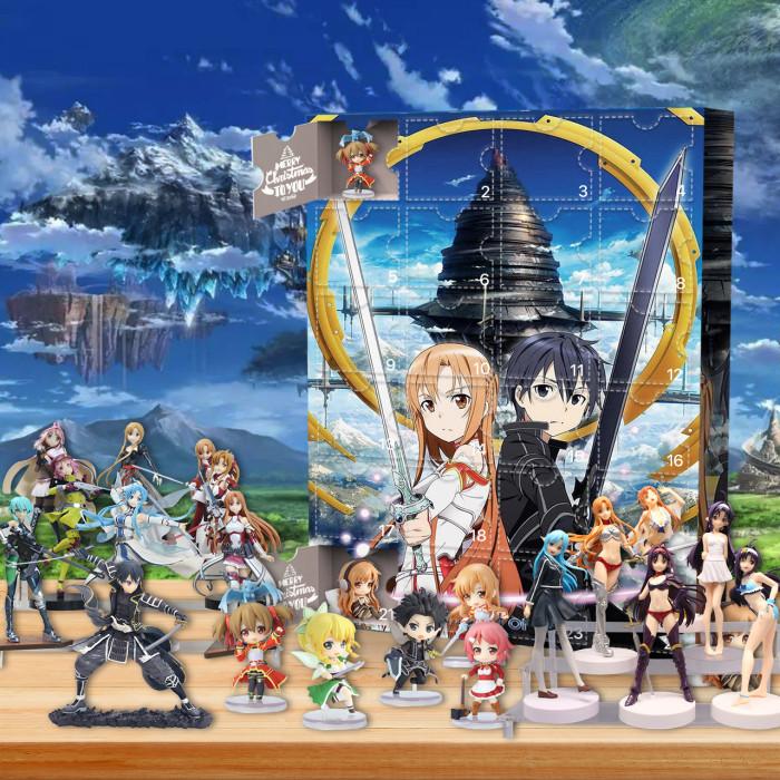 Sword Art Online Advent Calendar -- 🎉give away 24PCS gifts