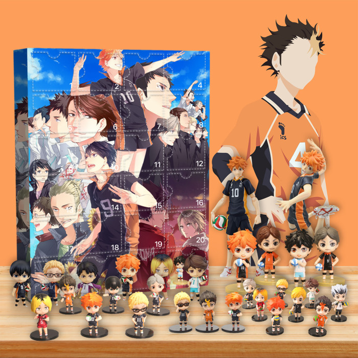 Haikyu!! Advent Calendar -- 🔥24 Gifts Are In It