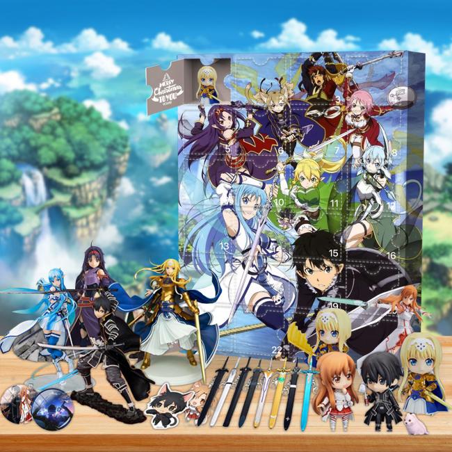 Sword Art Online Advent Calendar -- 🕸The One With 24 Little Doors