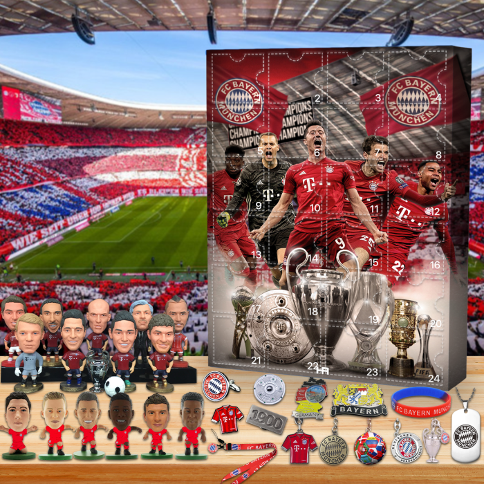 ⚽⚽Bayern Munich Football Club Theme Advent Calendar-- 🕸The One With 24 Little Doors🔥Limited Edition🔥