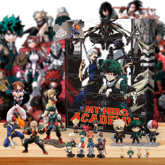 My Hero Academia!! Advent Calendar -- 🔥24 Gifts Are In It