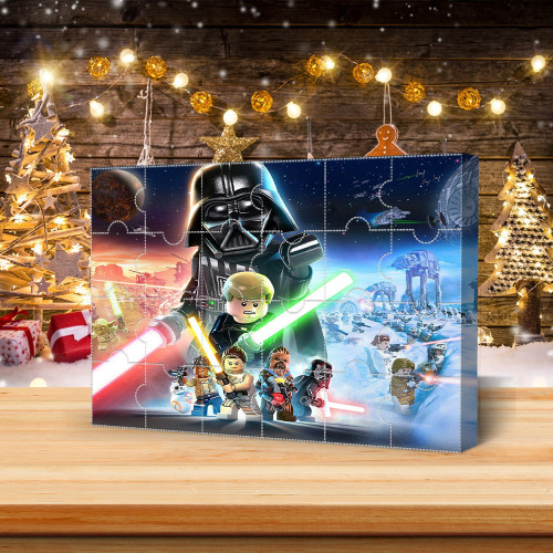 2021-Christmas Advent Calendar(Star Wars)🕸The One With 24 Little Doors