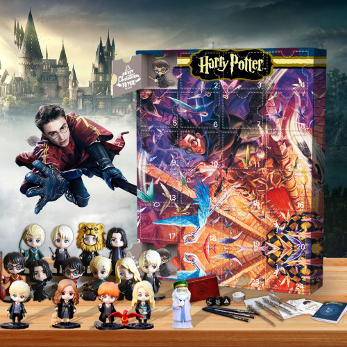 Harry Potter Advent Calendar-the calendar with 24 small doors