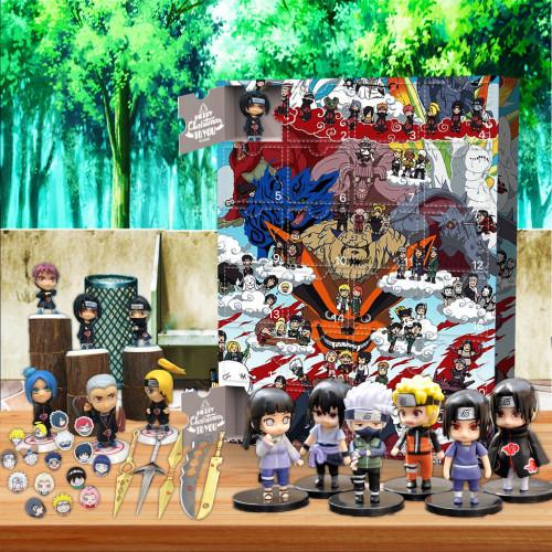 Naruto Advent Calendar-the calendar with 24 small doors