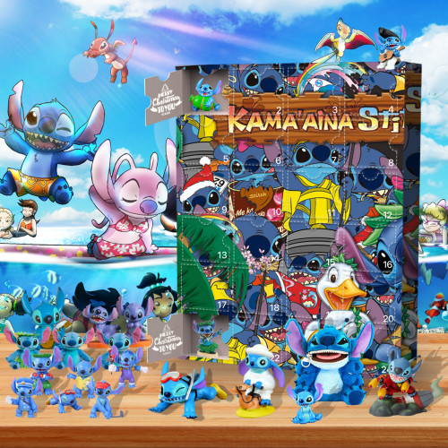 Stitch-Advent Calendar-Calendar with 24 Small Gifts