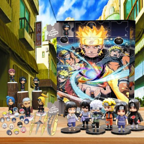 Naruto Advent Calendar -- Contains 24 gifts