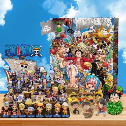 One Piece Advent Calendar -- Contains 24 gifts