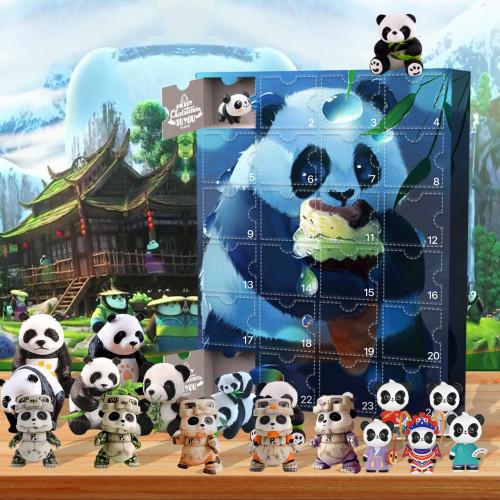 panda-Advent Calendar-Calendar with 24 small giftspanda