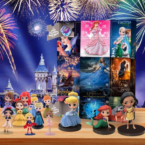 Disney Princess-Advent Calendar-Calendar with 24 small gifts