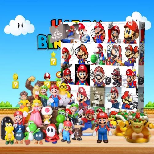 Mario Advent Calendar -- Contains 24 gifts