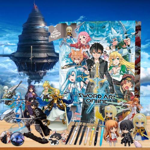 Sword Art Online-Advent Calendar-Calendar with 24 small gifts