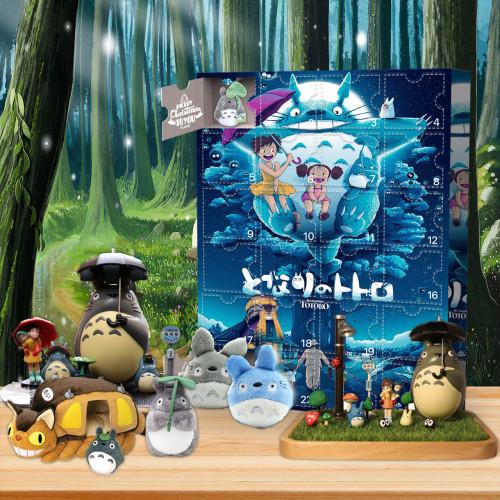 My Neighbor Totoro-Advent Calendar-Calendar with 24 small gifts