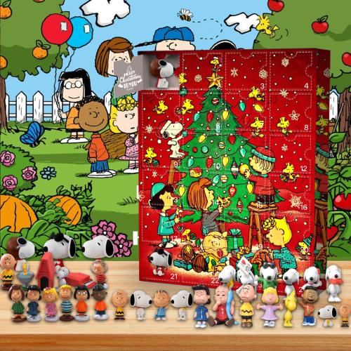 Snoopy -Advent Calendar-Calendar with 24 small gifts