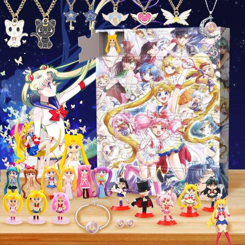 Sailor Moon-Advent Calendar-Calendar with 24 small gifts