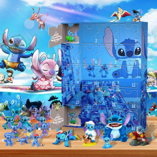 Stitch -Advent Calendar-Calendar with 24 small gifts