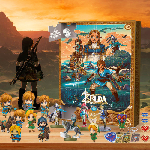 The Legend of Zelda-Advent Calendar-Calendar with 24 small gifts