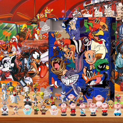 Looney Tunes-Advent Calendar-Calendar with 24 small gifts