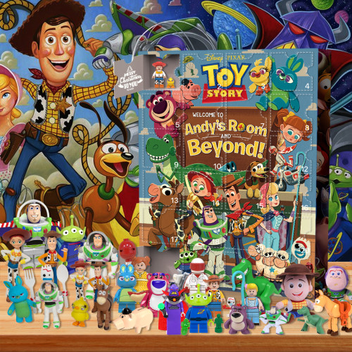 Toy Story-Advent Calendar-Calendar with 24 small gifts