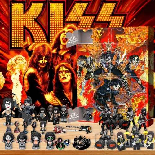 KISS  Advent Calendar -the calendar with 24 small doors