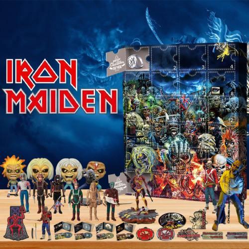 Iron Maiden-Advent Calendar-Calendar with 24 small gifts