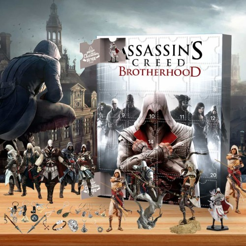 Assassin's Creed-Advent Calendar-Calendar with 24 small gifts