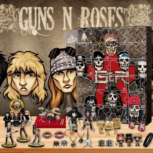 Guns N' Roses-Advent Calendar-Calendar with 24 small gifts