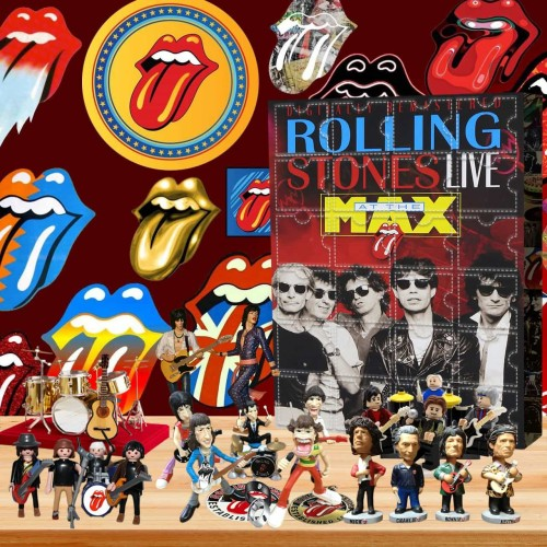 The Rolling Stones-Advent Calendar-Calendar with 24 small gifts